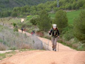 Laura Scherer El Camino de Santiago 2012...4-wheel drive!