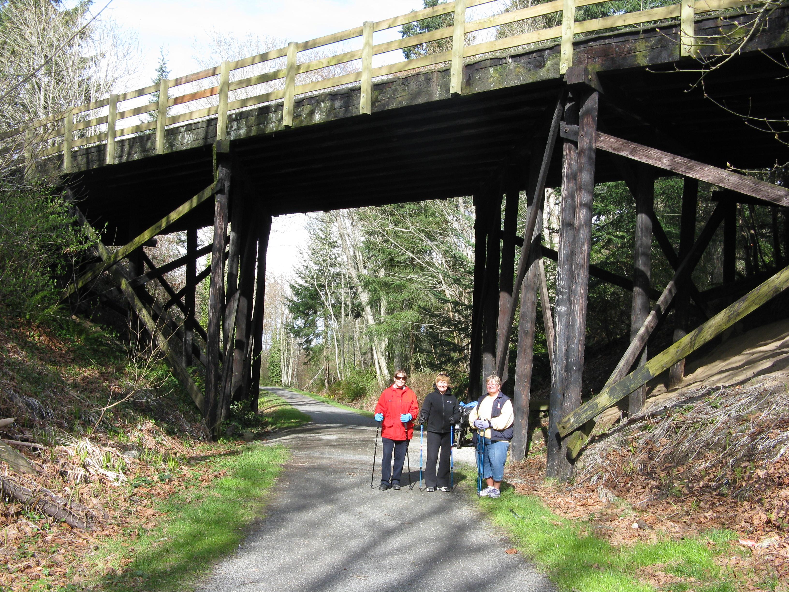 Bridge over Goose near Royal Roads